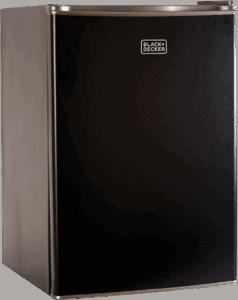 BLACK+DECKER BCRK25B Compact Refrigerator Best Refrigerator for Kegerator