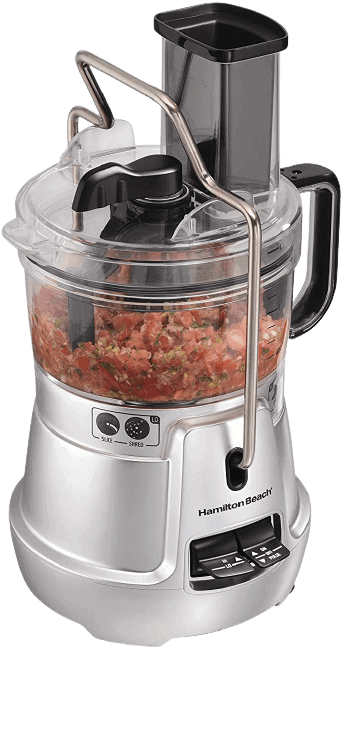 Hamilton Beach Stack and Snap 8-Cup Food Processor Best Food Processor Under $50