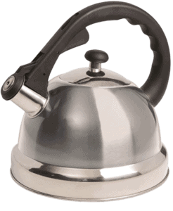 Mr. Coffee Claredale Whistling Tea Kettle