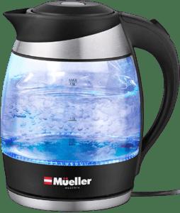 Mueller Premium Electric Kettle Best Glass Tea Kettle