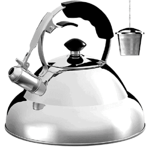 Willow and Everett Stovetop Whistling Tea Kettle