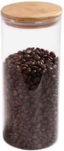77L Glass Coffee Bean Container
