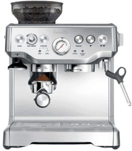 Breville BES870XL Barista Express Espresso Machine Best Commercial Coffee Machine for Small Cafe