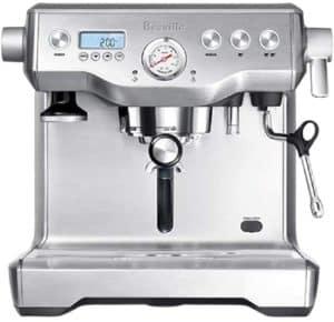 Breville BES920XL Dual Boiler Espresso Machine Best Espresso Machine for Mobile Coffee Shop