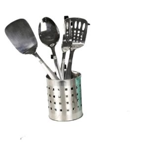 Chef Craft 10230 1-Piece Stainless Steel Solid Spoon