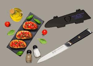 DALSTRONG Utility Knife - 5 - Phantom Series Best Japanese Knife for cutting vegetables