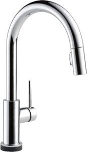 Delta Faucet Trinsic VoiceIQ Single-Handle Touch Kitchen Sink Faucet