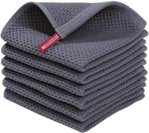 Homaxy 100% Cotton Dish Towel