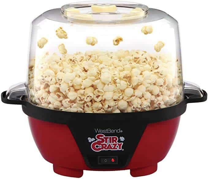 West Bend 82505 Stir Crazy Electric Hot Oil Popcorn Popper Best Value Popper