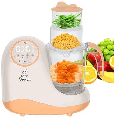 Homia Baby Food Maker Best Multifunctional Baby Food Steamer and Blender
