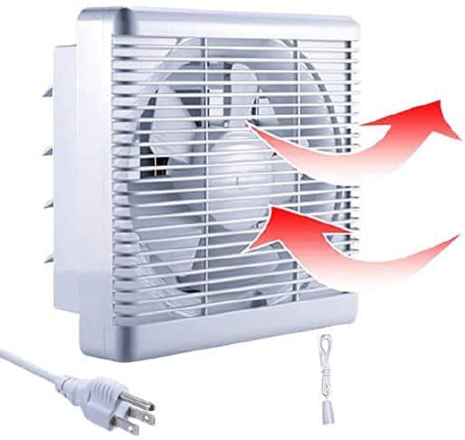 SAILFLO 10-inch Exhaust Shutter Fan
