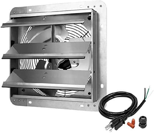 iPower 12 Inch Shutter Exhaust Fan Best Affordable Kitchen Exhaust Fan