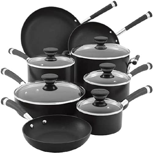 Circulon Acclaim Hard-Anodized Nonstick Cookware Pots and Pans Set Best Hard-anodized Cookware Set